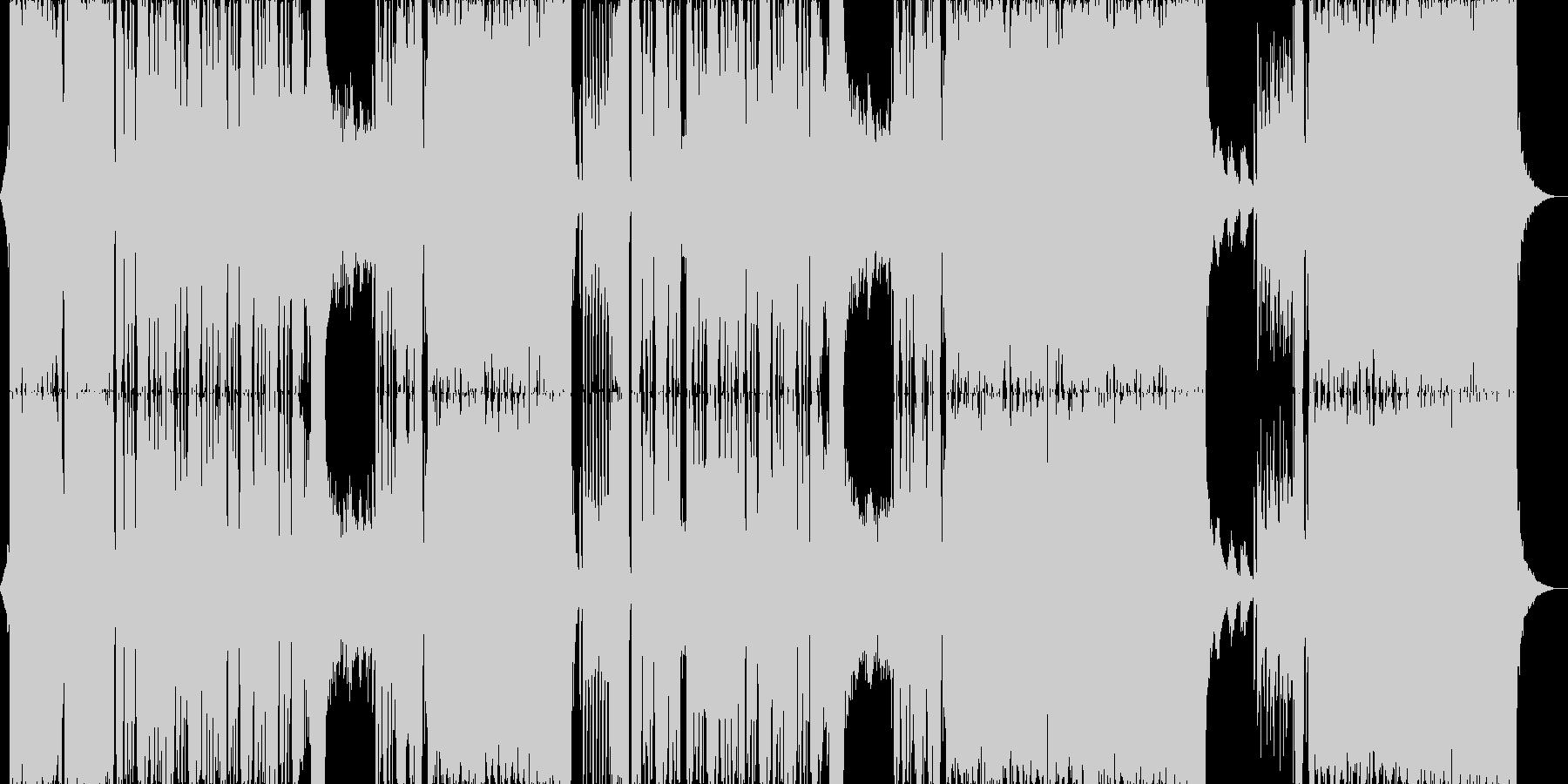 和風EDM/ダブステップ/お正月ダンスの未再生の波形