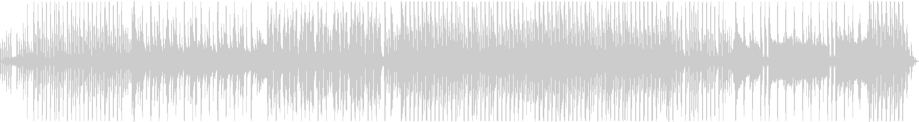 ピアノメインの爽やか系R&Bの未再生の波形
