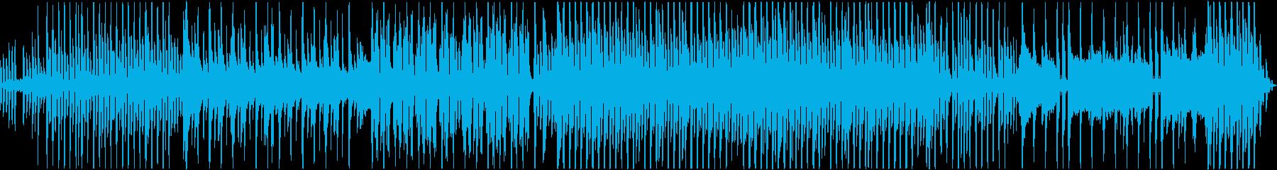 ピアノメインの爽やか系R&Bの再生済みの波形