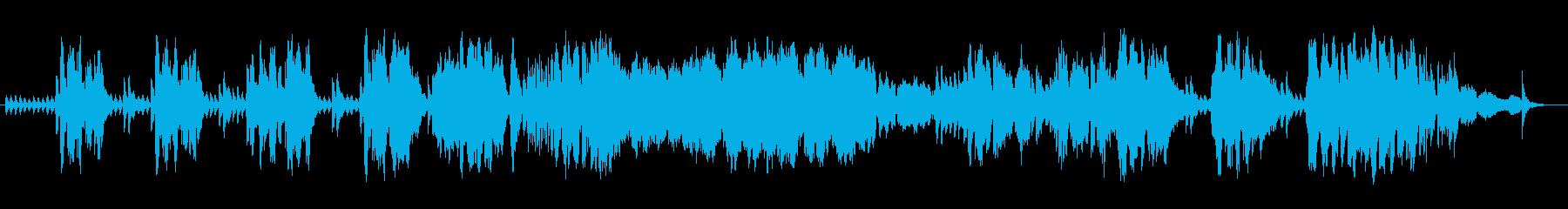 ゆったりクラシカルなバイオリンサウンドの再生済みの波形