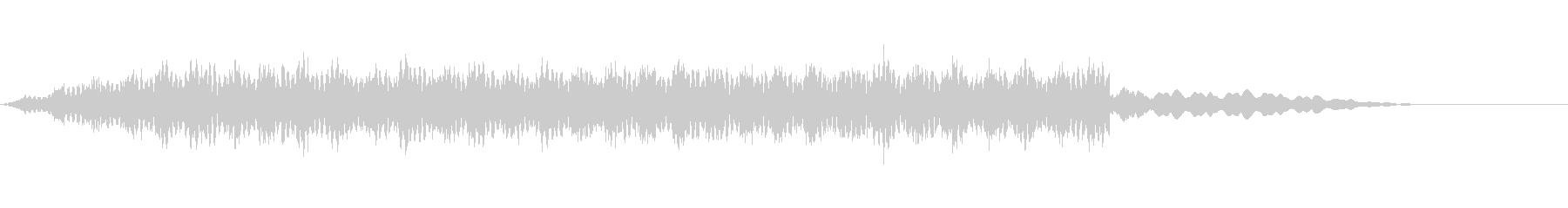 近未来なサウンド02の未再生の波形