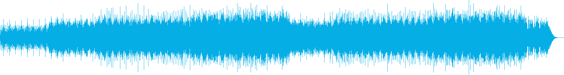 エキゾチックな雰囲気のアンビエントBGMの再生済みの波形