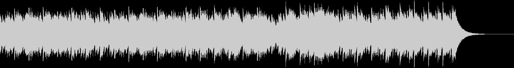 キラキラしたアラーム、グロッケン音の未再生の波形