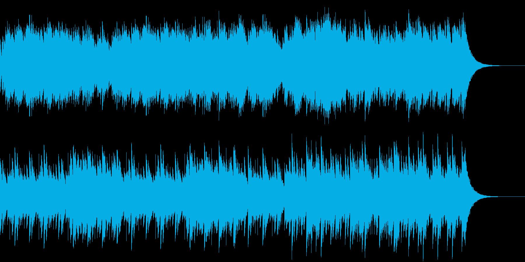 キラキラしたアラーム、グロッケン音の再生済みの波形
