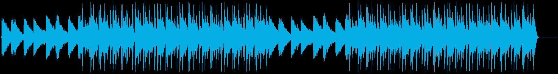 おしゃれでLo-FiなイメージのBGMの再生済みの波形