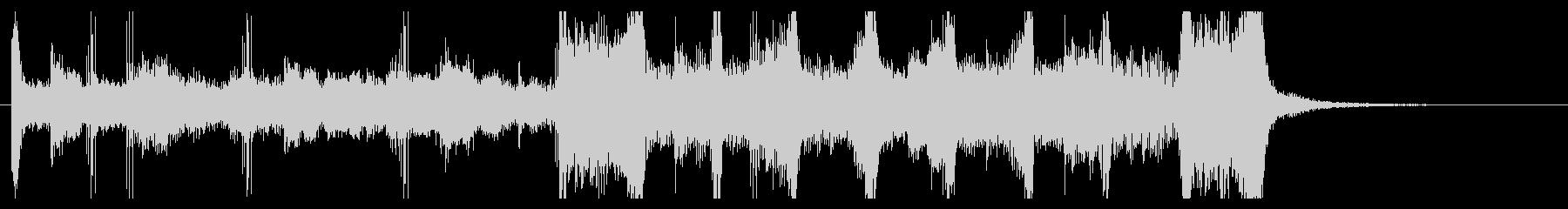 シンセポップ ジングル ラジオテレビCMの未再生の波形