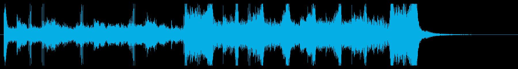 シンセポップ ジングル ラジオテレビCMの再生済みの波形