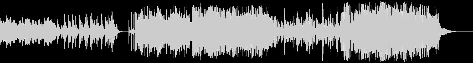 バッハの名曲のメロディを引用したポップスの未再生の波形