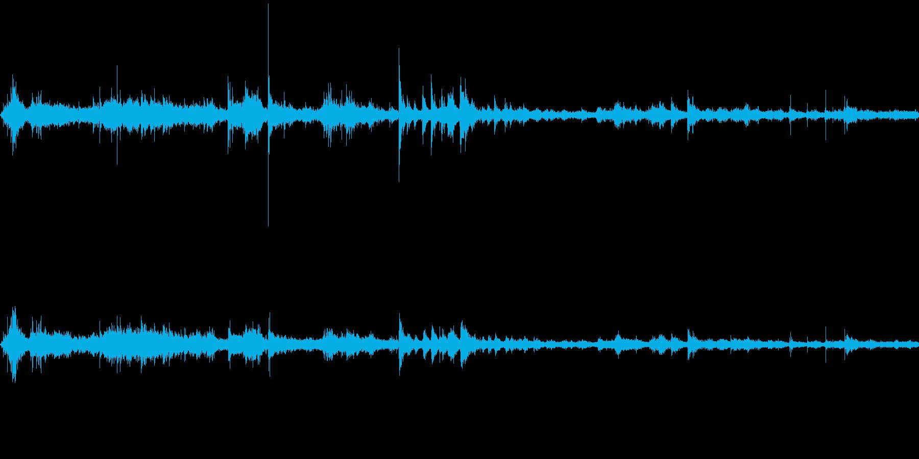 空港ロビー(環境音)の再生済みの波形