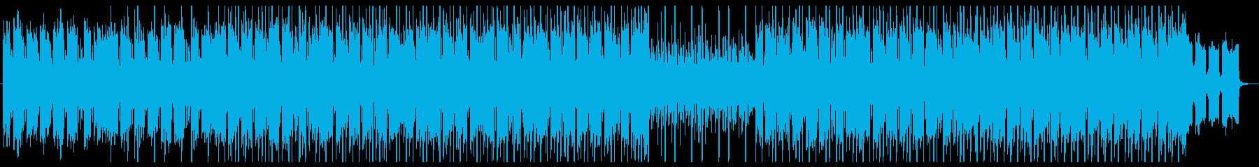 お洒落なVlogに最適なヒップホップ・Fの再生済みの波形