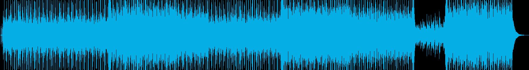 アコースティックポップ楽器。さわや...の再生済みの波形