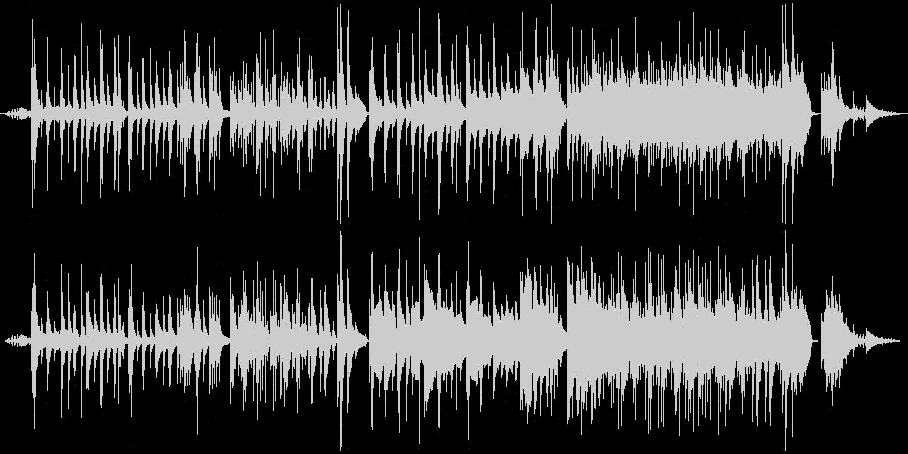 【蝉声付き】綺麗でノスタルジックなピア…の未再生の波形