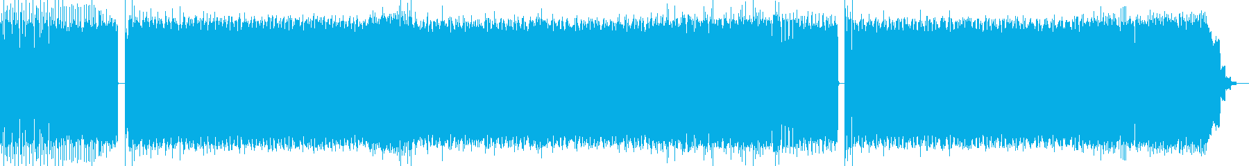 ダブステップ調の4つ打ちEDM(vo無)の再生済みの波形