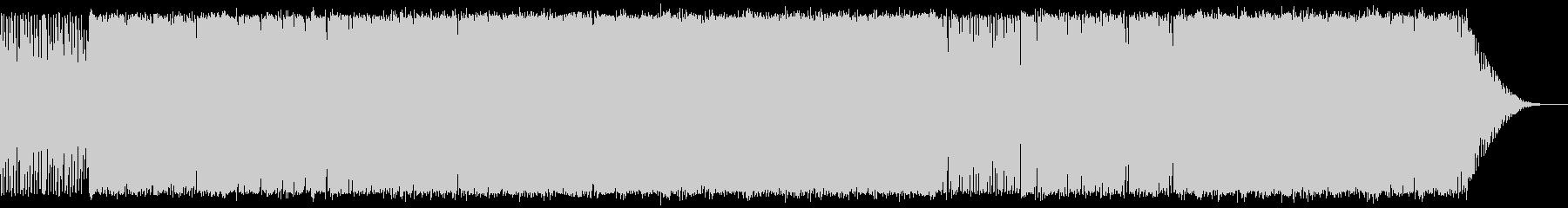 少し切ないポップBGMの未再生の波形