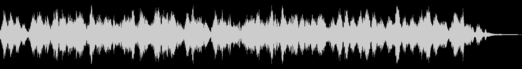 メロディアスな和風曲19-ピアノソロの未再生の波形