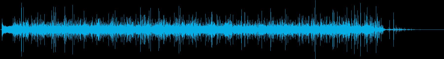 ノズル付きガーデンホース:ソークモ...の再生済みの波形