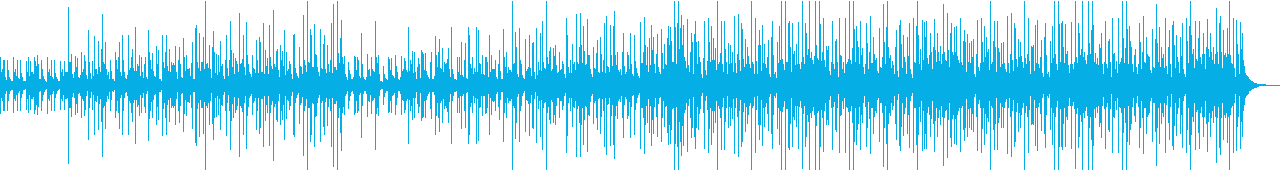 お祭りをイメージした和太鼓曲です。の再生済みの波形