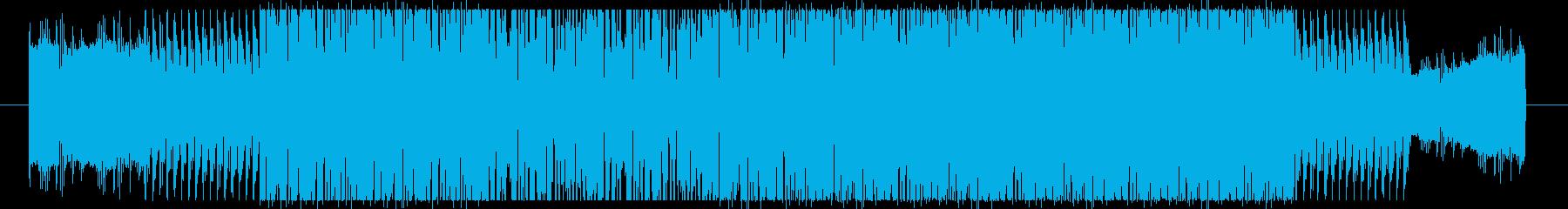 近未来的なサウンドを意識して作成しまし…の再生済みの波形