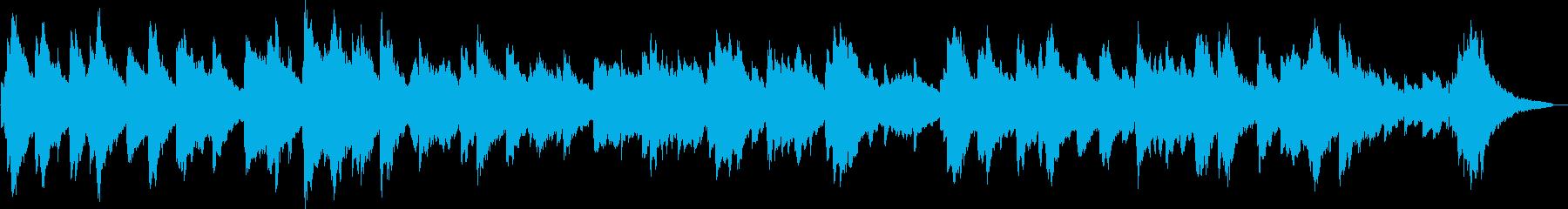 ローズピアノの眠くなるBGMの再生済みの波形