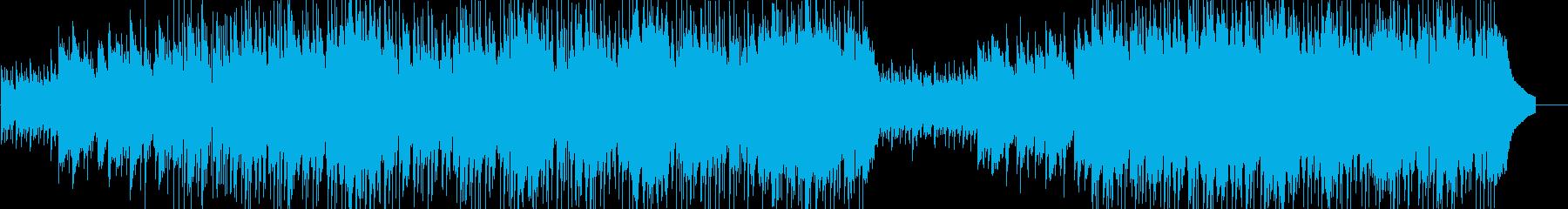 ポップインストゥルメンタル。ポジテ...の再生済みの波形