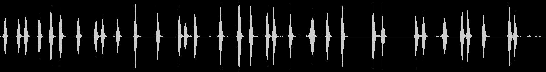 ドッグバーキング4、動物; DIG...の未再生の波形