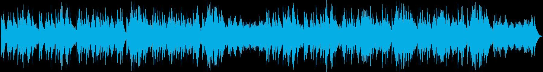 眠りの精(オルゴール)の再生済みの波形