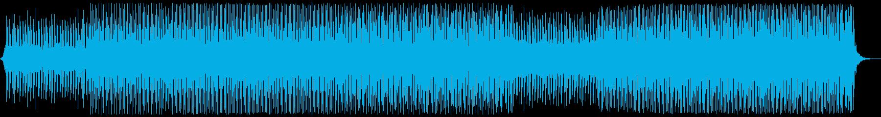 明るい夏のポップの再生済みの波形