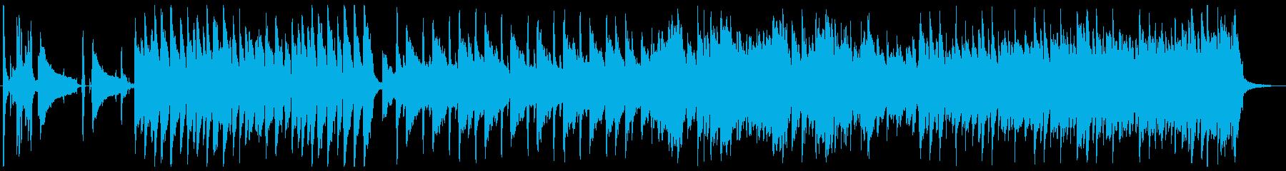 CM音楽 Jazz Funkの再生済みの波形