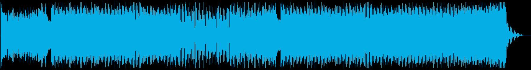 前向きでパワフルなエレクトロEDMの再生済みの波形