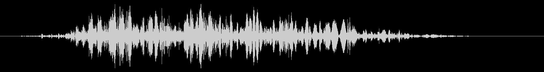 スライムなどが蠢く音タイプA#2の未再生の波形
