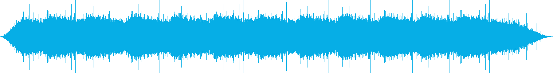 【生録音・環境音】軒先での雨宿りの再生済みの波形