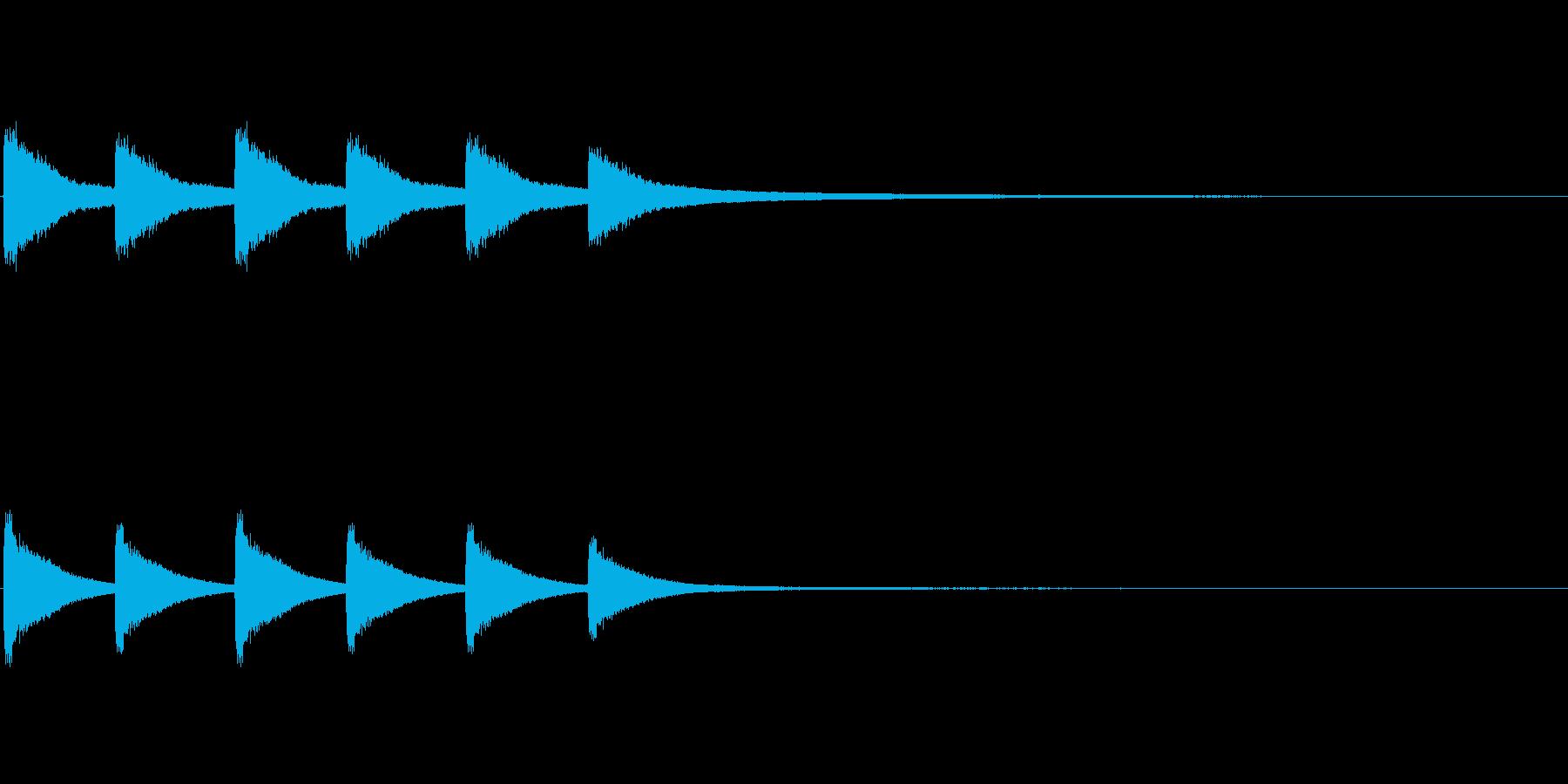 教会の鐘1 (ゴーン…ゴーン…)の再生済みの波形