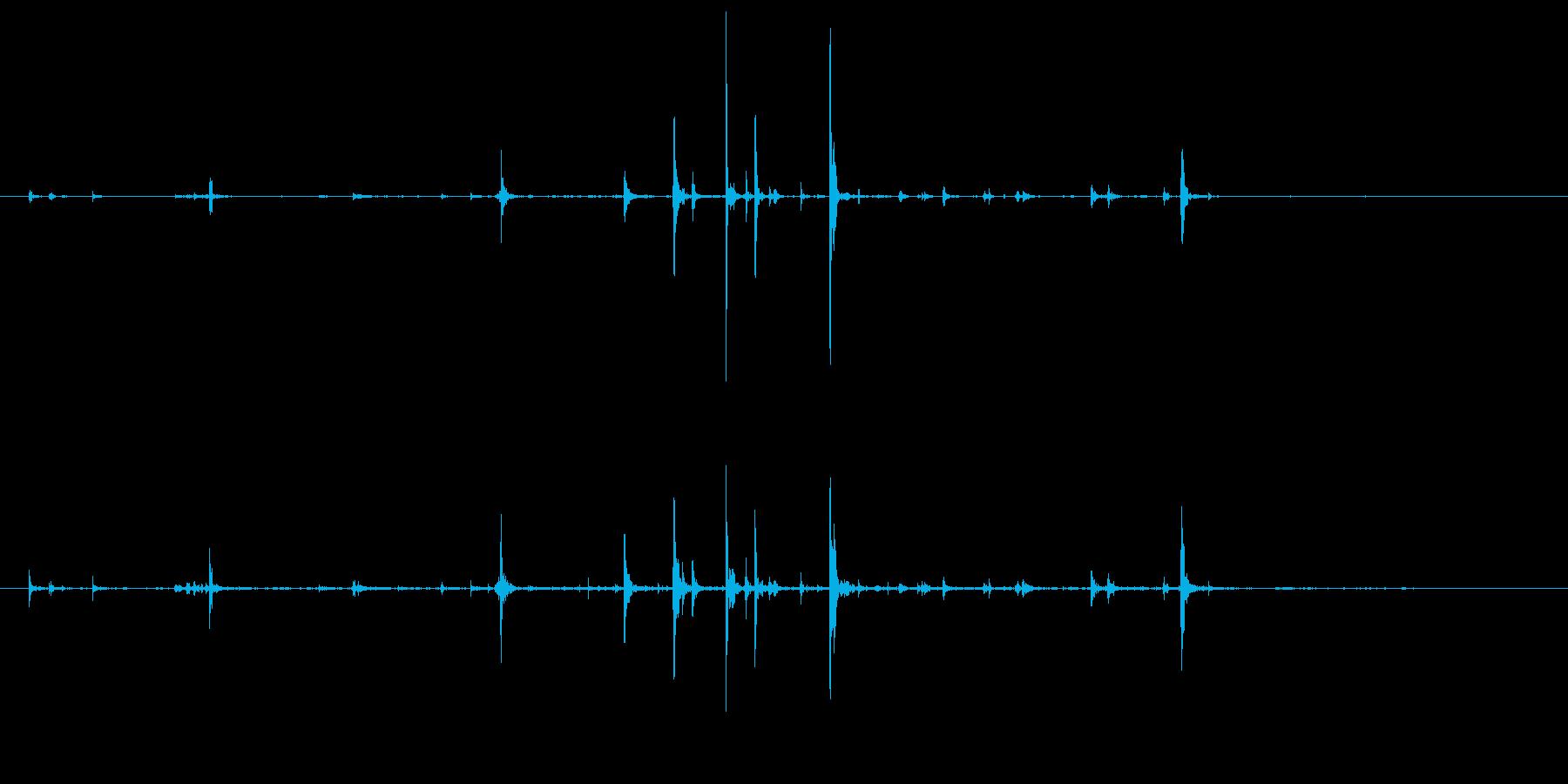 石 大秋05の再生済みの波形