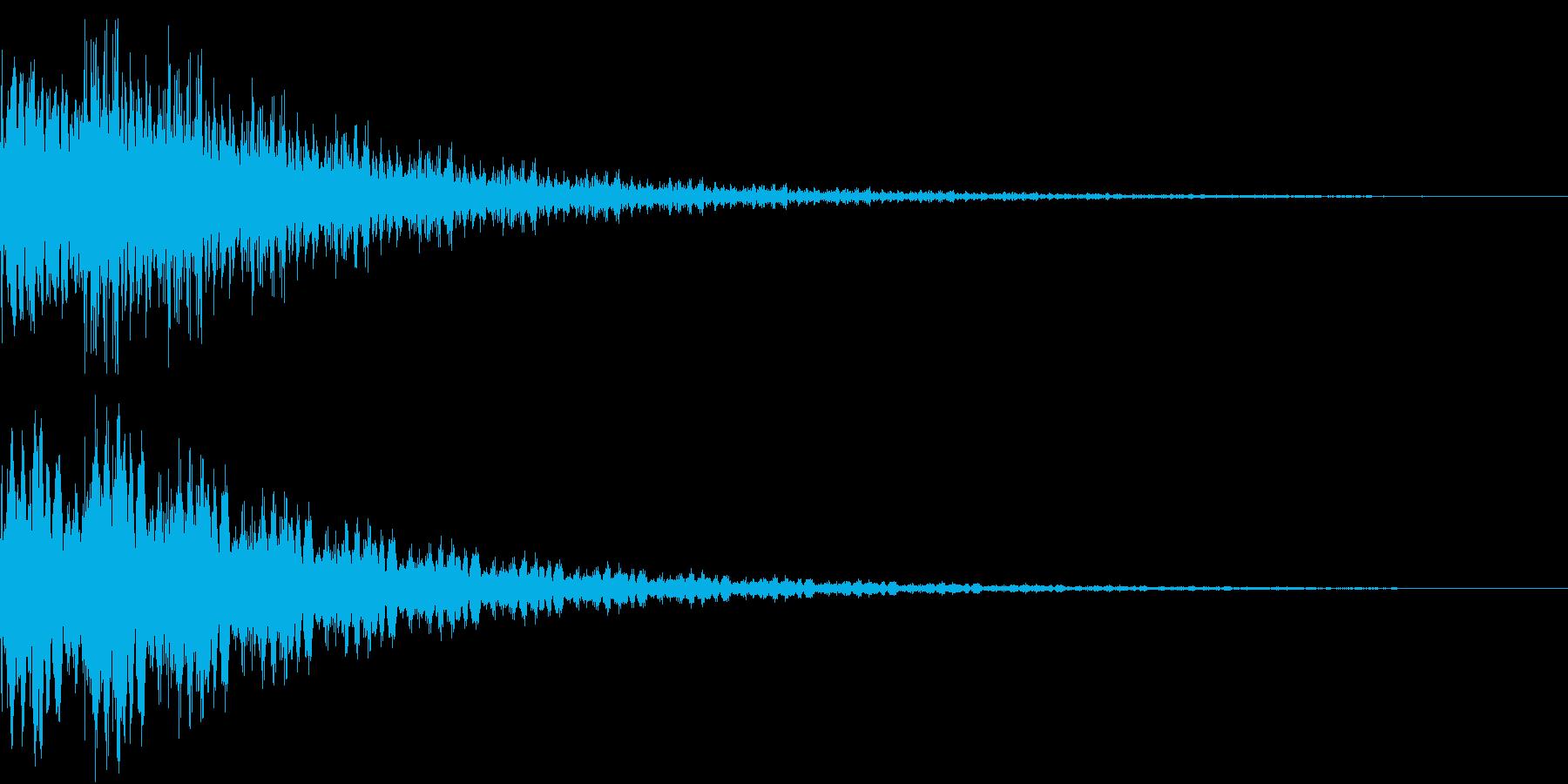 魔法「ぽよーん」_02の再生済みの波形