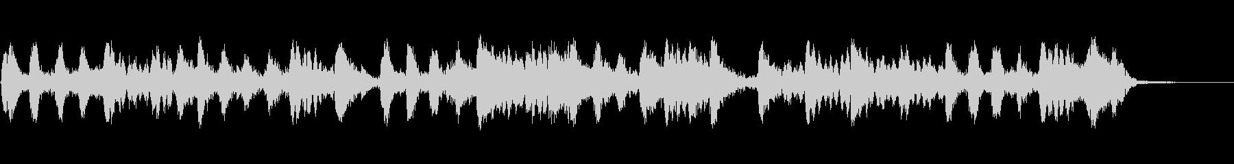 制御不能な文字列とピアノの未再生の波形