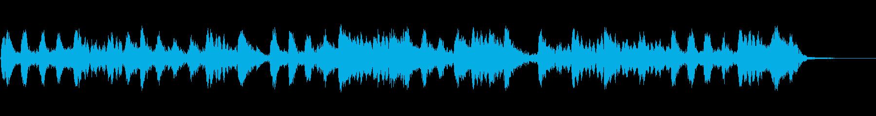 制御不能な文字列とピアノの再生済みの波形