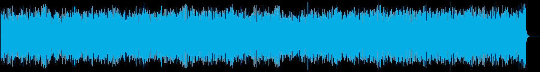 ラテン系フュージョン(フルサイズ)の再生済みの波形