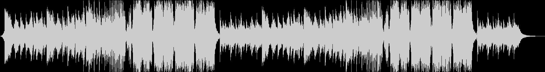 美しい篠笛の和風Future Bassの未再生の波形