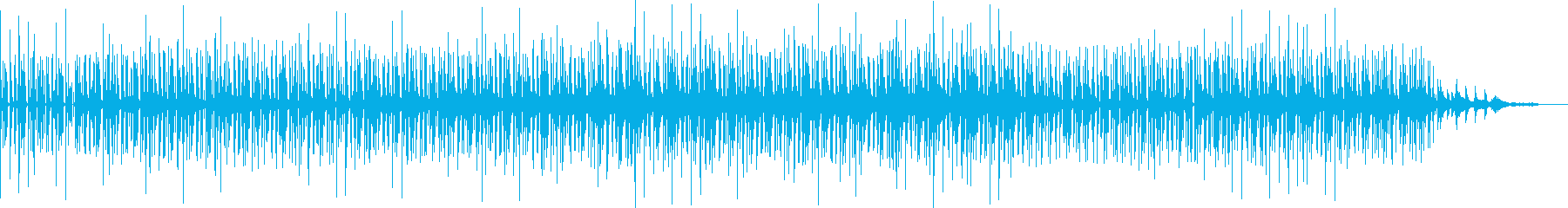 ambientなbreakbeatsですの再生済みの波形