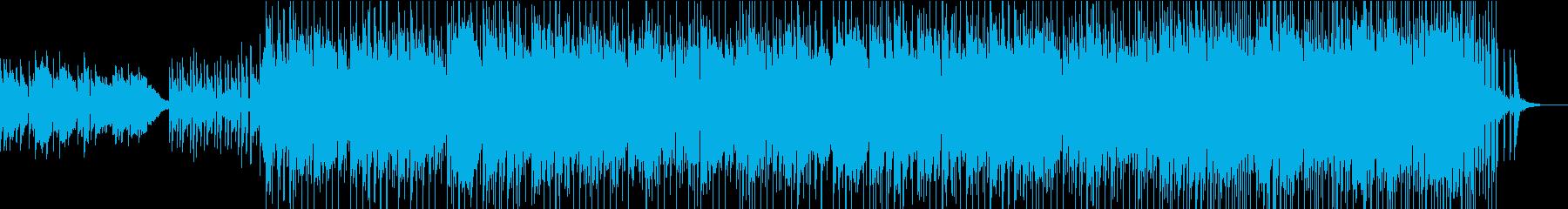 エレガット生録(Samba)の再生済みの波形