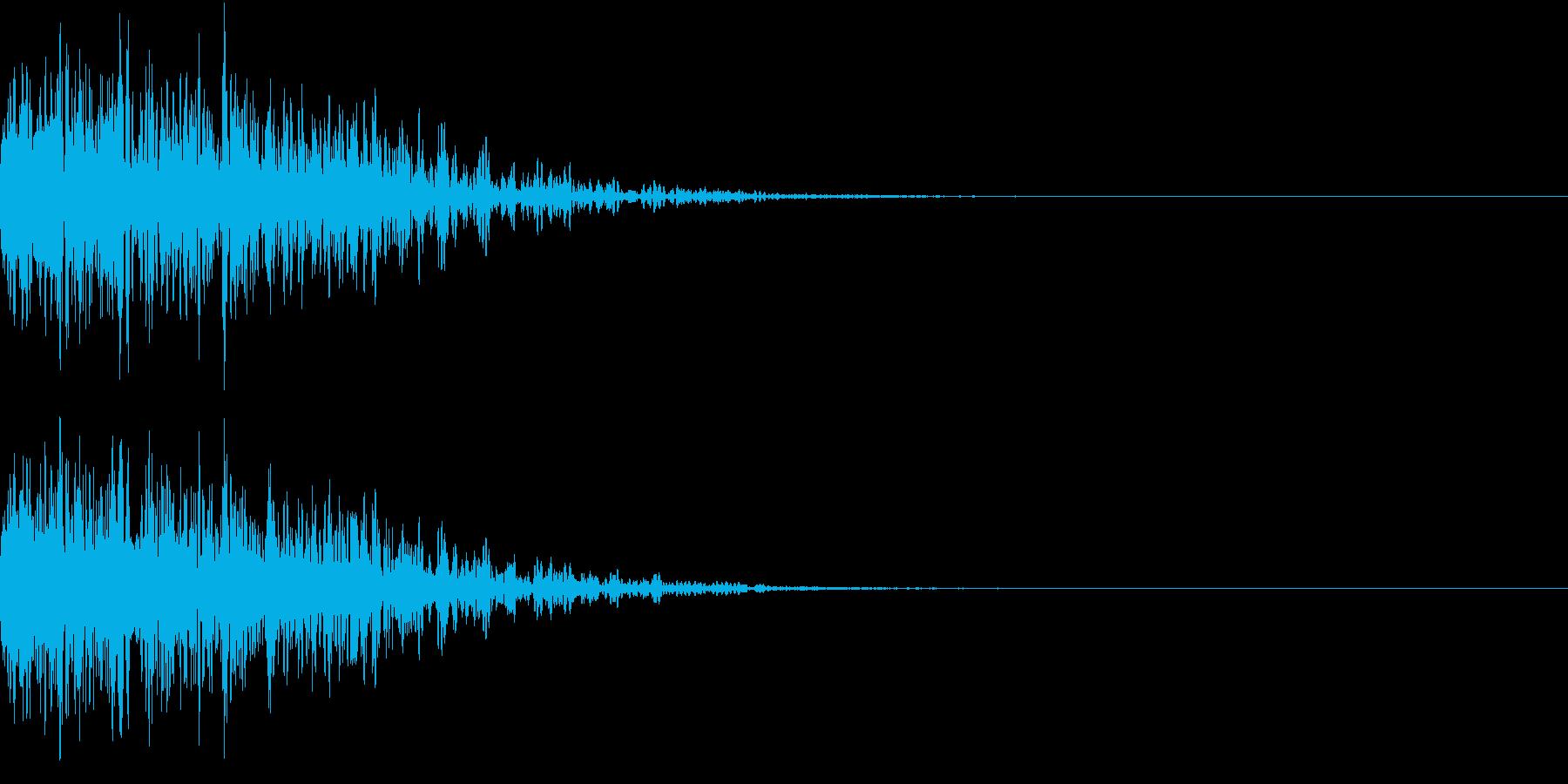 ホラー 怪談 衝撃 びっくり 怖い 18の再生済みの波形