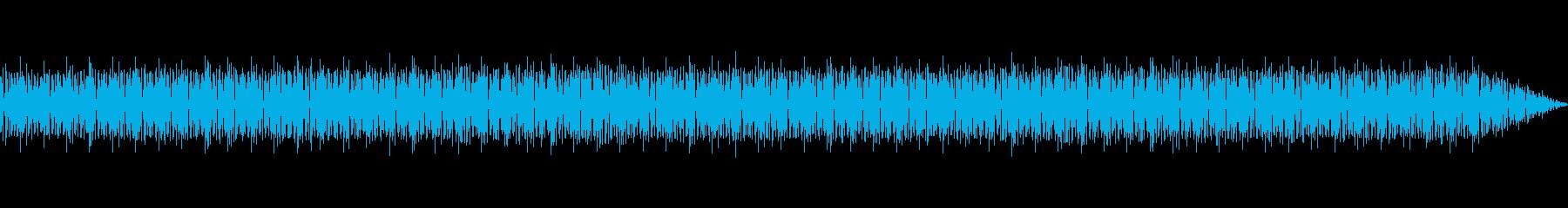 幻想的で情緒的なテクノの再生済みの波形
