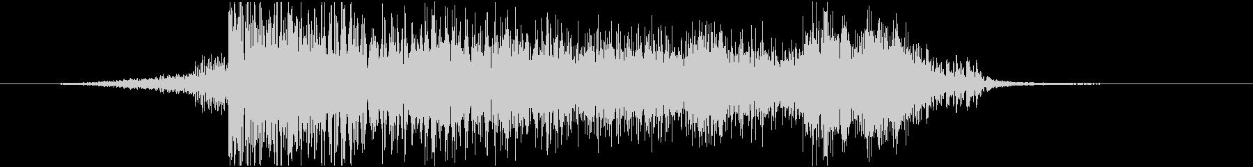 【ジングル】広がる未来~壮大で都会的な音の未再生の波形