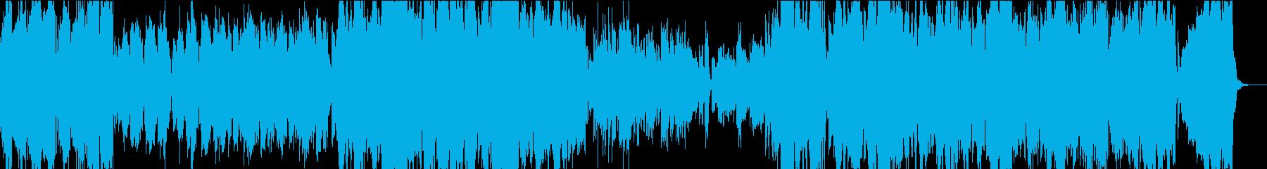 爽やかでポップなオーケストレーションの再生済みの波形