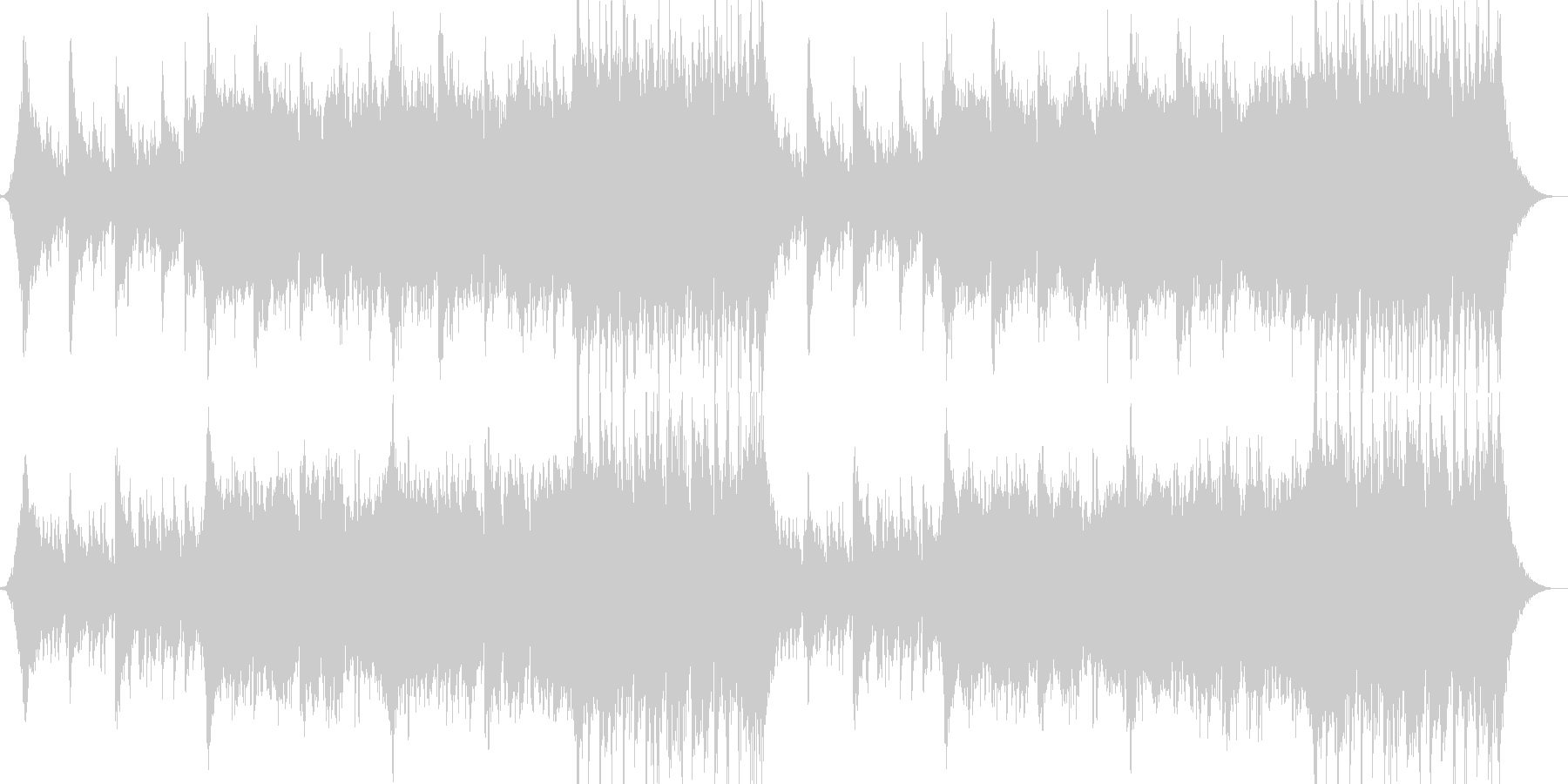 企業VPや映像41、壮大、オーケストラaの未再生の波形