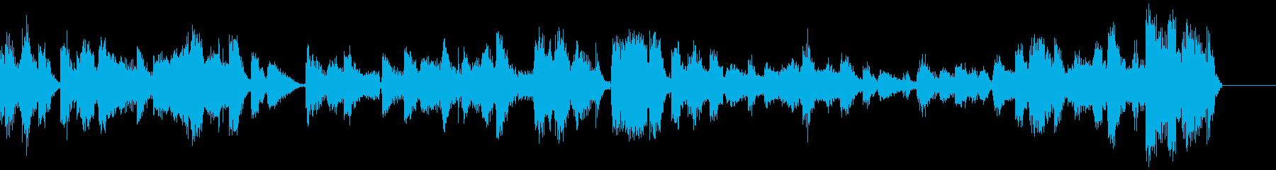 タイトル部分などに使いやすいジングルの再生済みの波形