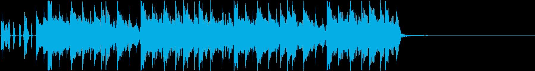 【ジングル・掛声なし】和楽器HIPHOPの再生済みの波形