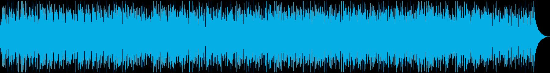おしゃれなボサノバ02の再生済みの波形