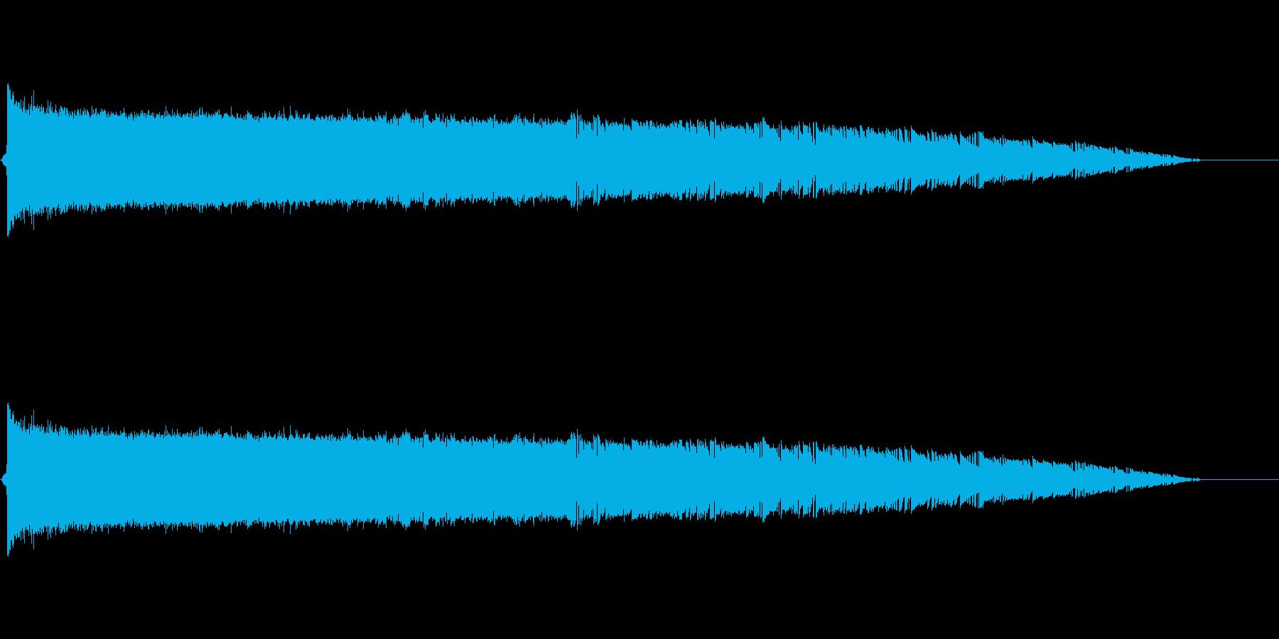 バシューン(ロケット打上げ、ミサイル)の再生済みの波形