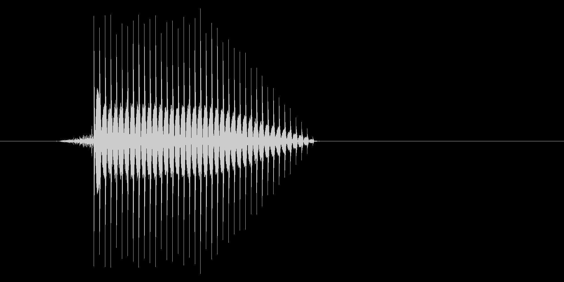 ゲーム(ファミコン風)セレクト音_046の未再生の波形